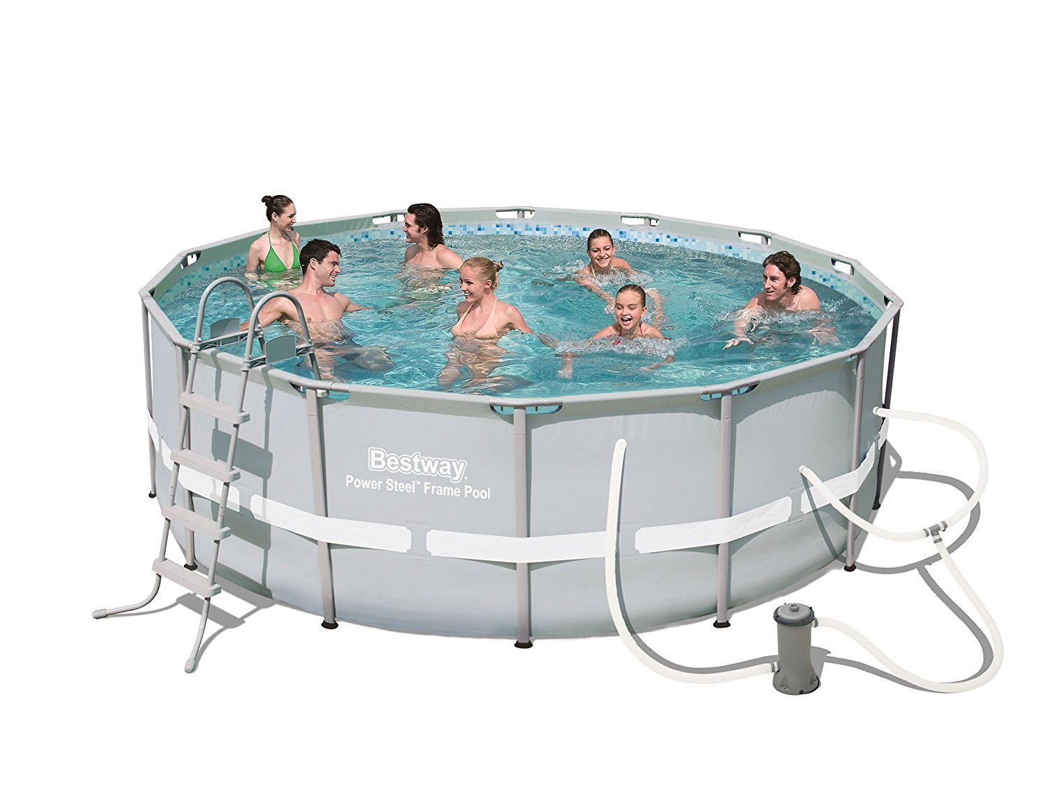 bestway power steel 14 39 x 48 frame pool set review latest fitness reviews fitness machine. Black Bedroom Furniture Sets. Home Design Ideas